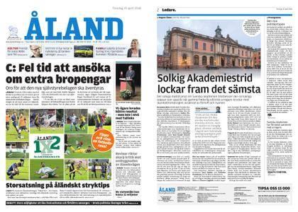 Ålandstidningen – 19 april 2018