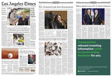 Los Angeles Times – February 18, 2021
