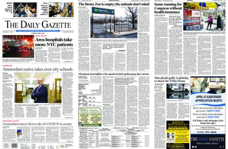 The Daily Gazette – April 04, 2020