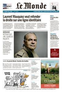 Le Monde du Vendredi 27 Octobre 2017