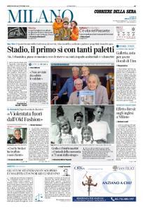 Corriere della Sera Milano – 16 ottobre 2019