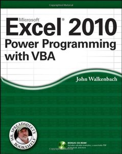 Excel 2010 Power Programming with VBA (repost)