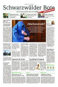 Schwarzwälder Bote Hechingen - 27. Juni 2018