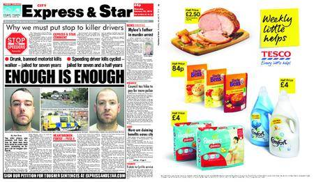 Express and Star City Edition – January 25, 2018