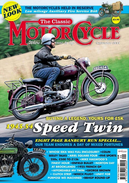 The Classic MotorCycle - September 2011