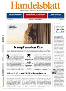 Handelsblatt - 10. Dezember 2018