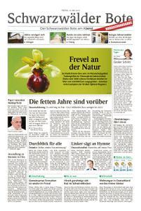 Schwarzwälder Bote St. Georgen, Triberg, Furtwangen - 10. Mai 2019