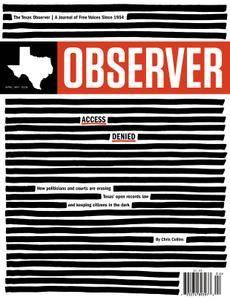 The Texas Observer - April 01, 2018