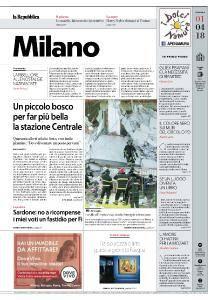 la Repubblica Milano - 1 Aprile 2018