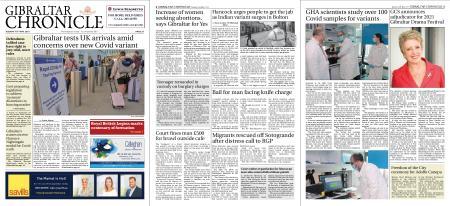 Gibraltar Chronicle – 18 May 2021