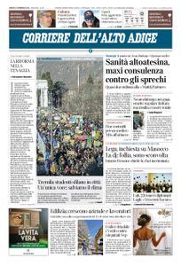 Corriere dell'Alto Adige – 16 febbraio 2019