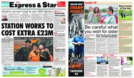 Express and Star City Edition – September 13, 2017