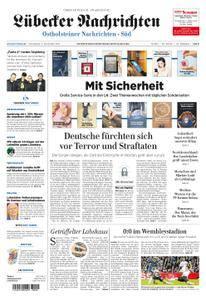 Lübecker Nachrichten Ostholstein Süd - 11. November 2017