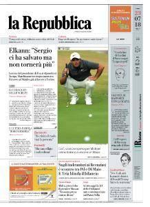 la Repubblica - 23 Luglio 2018