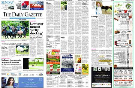 The Daily Gazette – August 12, 2018