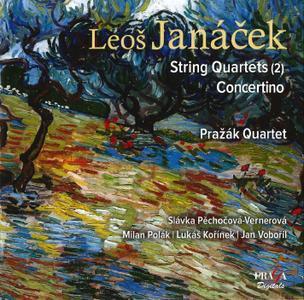 Prazak Quartet - Leos Janacek: String Quartets; Concertino (2014)