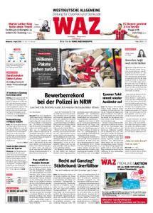 WAZ Westdeutsche Allgemeine Zeitung Oberhausen-Sterkrade - 04. April 2018