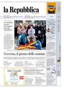 la Repubblica - 22 Dicembre 2017