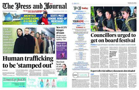 The Press and Journal Moray – February 20, 2018