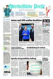 Oberhessische Presse Marburg/Ostkreis - 13. Januar 2018