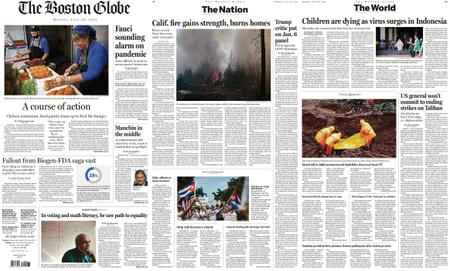 The Boston Globe – July 26, 2021