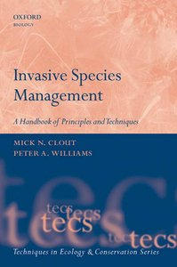 Invasive Species Management: A Handbook of Techniques