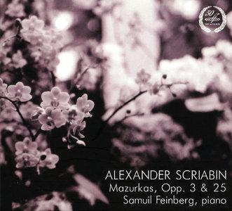 Samuil Feinberg - Alexander Scriabin: Mazurkas, Opp. 3 & 25 (2014) [Re-Up]