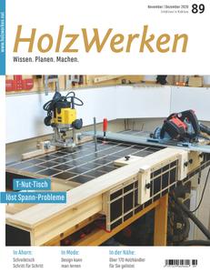 HolzWerken - November/Dezember 2020