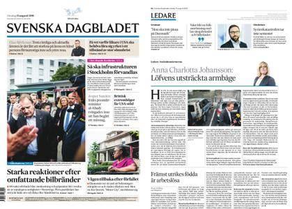 Svenska Dagbladet – 15 augusti 2018
