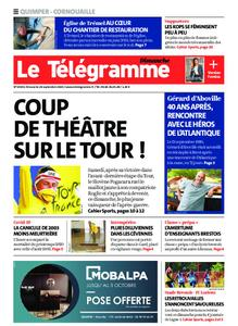 Le Télégramme Ouest Cornouaille – 20 septembre 2020