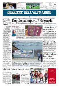 Corriere dell'Alto Adige - 24 Ottobre 2019