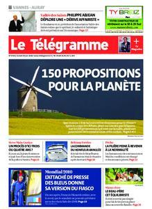 Le Télégramme Auray – 20 juin 2020