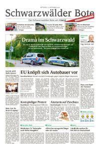 Schwarzwälder Bote Blumberg - 19. September 2018