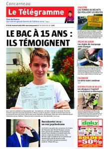 Le Télégramme Concarneau – 05 juillet 2019