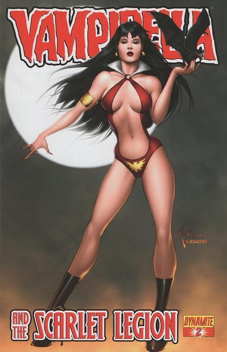 Vampirella and The Scarlet Legion #2 (2011)