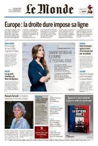 Le Monde du Jeudi 5 Juillet 2018