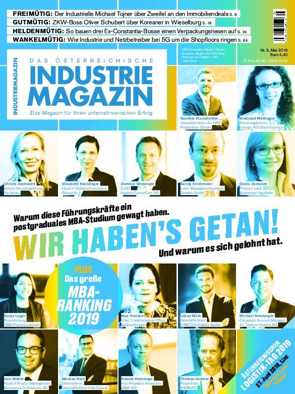 Industrie Magazin - Mai 2019