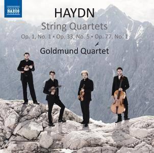 Goldmund Quartet - Joseph Haydn: String Quartets, Op.1 No.1; Op.33 No.5; Op.77 No.1 (2016)