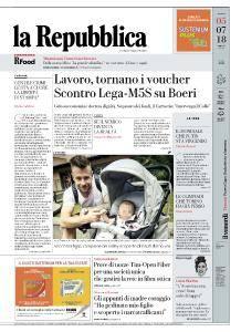 la Repubblica - 5 Luglio 2018