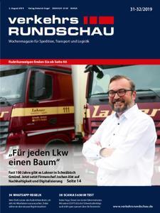 VerkehrsRundschau - 30. Juli 2019
