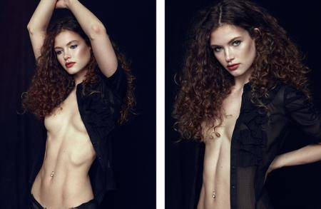 Alexa Jones photographed by Michael Woloszynowicz for YUME Magazine