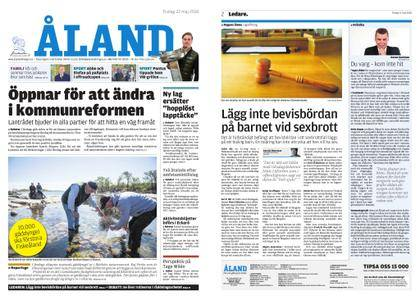 Ålandstidningen – 22 maj 2018