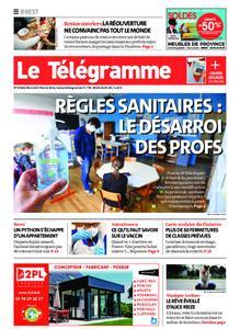 Le Télégramme Brest – 03 février 2021