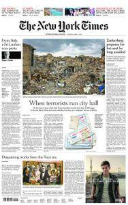International New York Times - 09 April 2018