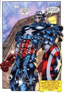 Captain America v1 439c The Avengers 386