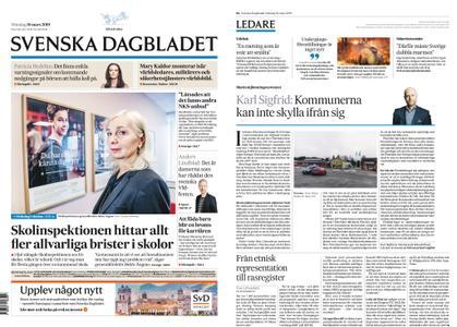 Svenska Dagbladet – 18 mars 2019