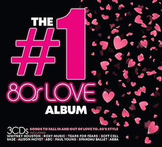 VA - The #1 Album: 80s Love (3CD, 2019)