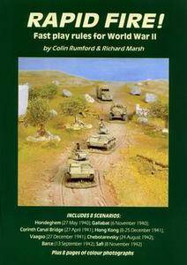 Rapid Fire! Fast Play World War 2 Wargame Rules (1-st Edition)