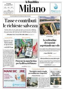 la Repubblica Milano - 29 Maggio 2020