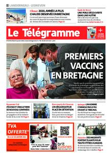 Le Télégramme Landerneau - Lesneven – 05 janvier 2021